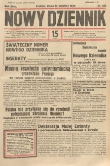 Nowy Dziennik. 1935, nr107