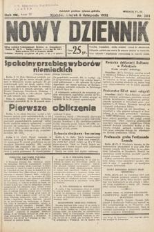 Nowy Dziennik. 1932, nr303