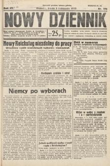 Nowy Dziennik. 1932, nr304
