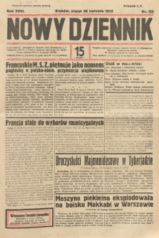 Nowy Dziennik. 1935, nr113