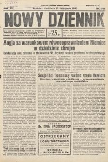Nowy Dziennik. 1932, nr308