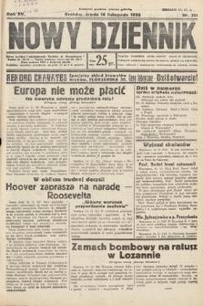 Nowy Dziennik. 1932, nr311