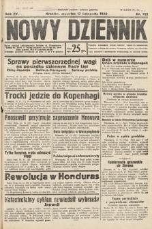 Nowy Dziennik. 1932, nr312