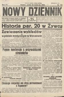 Nowy Dziennik. 1932, nr313