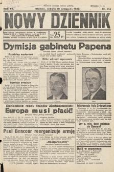 Nowy Dziennik. 1932, nr314