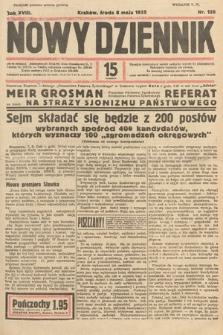 Nowy Dziennik. 1935, nr125