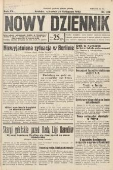 Nowy Dziennik. 1932, nr319