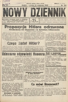 Nowy Dziennik. 1932, nr321