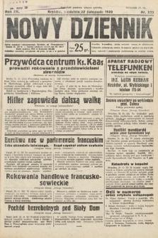 Nowy Dziennik. 1932, nr322