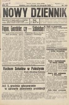 Nowy Dziennik. 1932, nr323