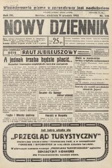 Nowy Dziennik. 1932, nr336