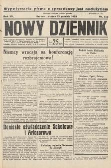 Nowy Dziennik. 1932, nr338
