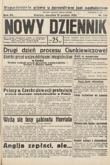 Nowy Dziennik. 1932, nr340
