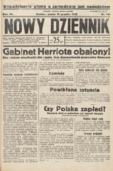 Nowy Dziennik. 1932, nr341
