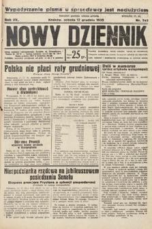 Nowy Dziennik. 1932, nr342
