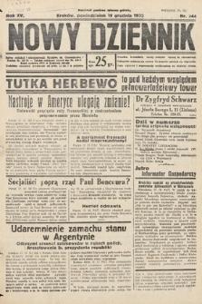 Nowy Dziennik. 1932, nr344