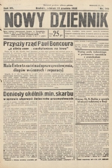 Nowy Dziennik. 1932, nr345