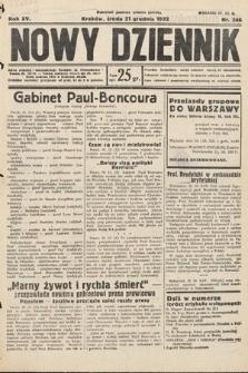 Nowy Dziennik. 1932, nr346