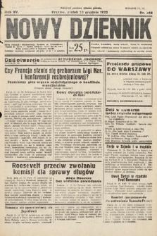 Nowy Dziennik. 1932, nr348
