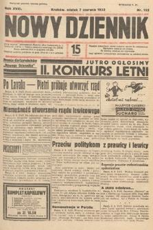Nowy Dziennik. 1935, nr155