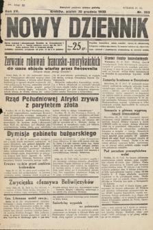 Nowy Dziennik. 1932, nr353