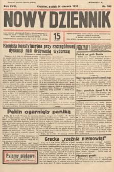 Nowy Dziennik. 1935, nr162