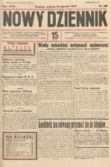 Nowy Dziennik. 1935, nr166