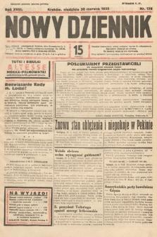Nowy Dziennik. 1935, nr178