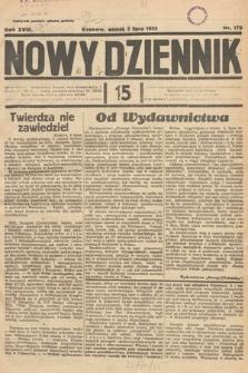 Nowy Dziennik. 1935, nr179