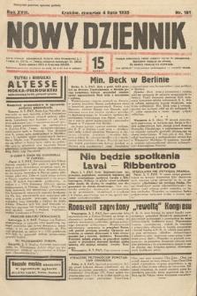 Nowy Dziennik. 1935, nr181