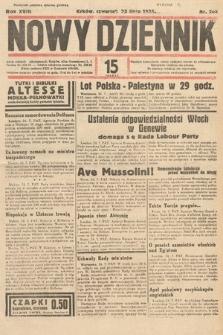 Nowy Dziennik. 1935, nr202