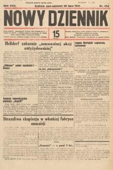 Nowy Dziennik. 1935, nr206