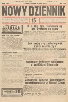 Nowy Dziennik. 1935, nr207