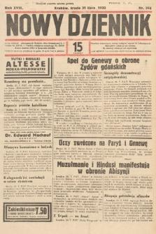 Nowy Dziennik. 1935, nr208