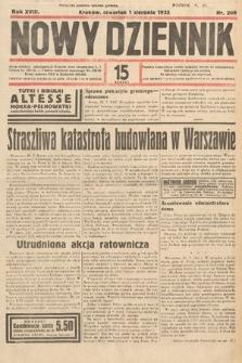 Nowy Dziennik. 1935, nr209