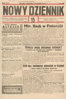 Nowy Dziennik. 1935, nr219