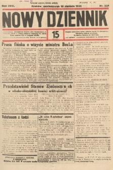 Nowy Dziennik. 1935, nr220