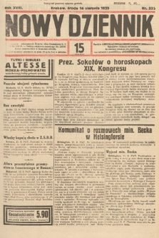 Nowy Dziennik. 1935, nr222