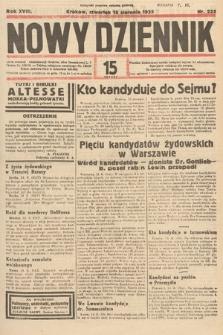 Nowy Dziennik. 1935, nr223