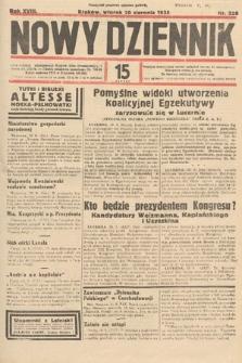 Nowy Dziennik. 1935, nr228
