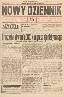 Nowy Dziennik. 1935, nr229