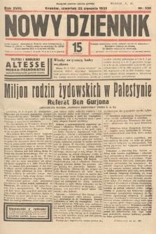 Nowy Dziennik. 1935, nr230