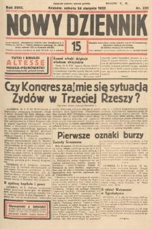 Nowy Dziennik. 1935, nr232
