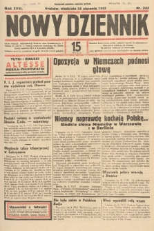 Nowy Dziennik. 1935, nr233