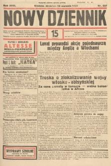 Nowy Dziennik. 1935, nr237
