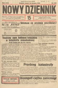 Nowy Dziennik. 1935, nr238