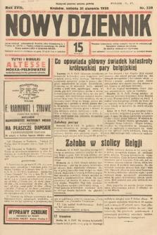 Nowy Dziennik. 1935, nr239