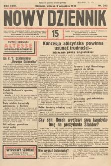 Nowy Dziennik. 1935, nr242