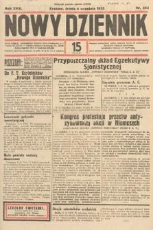 Nowy Dziennik. 1935, nr243