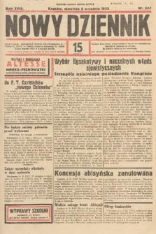 Nowy Dziennik. 1935, nr244
